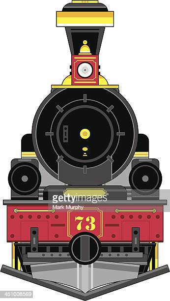 Wild West Style Train Engine