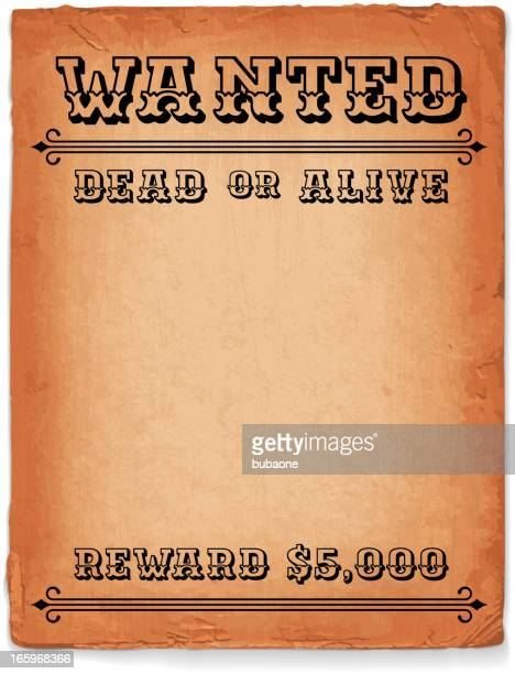 wild west wanted sign royalty free vector background - bootlegger stock illustrations