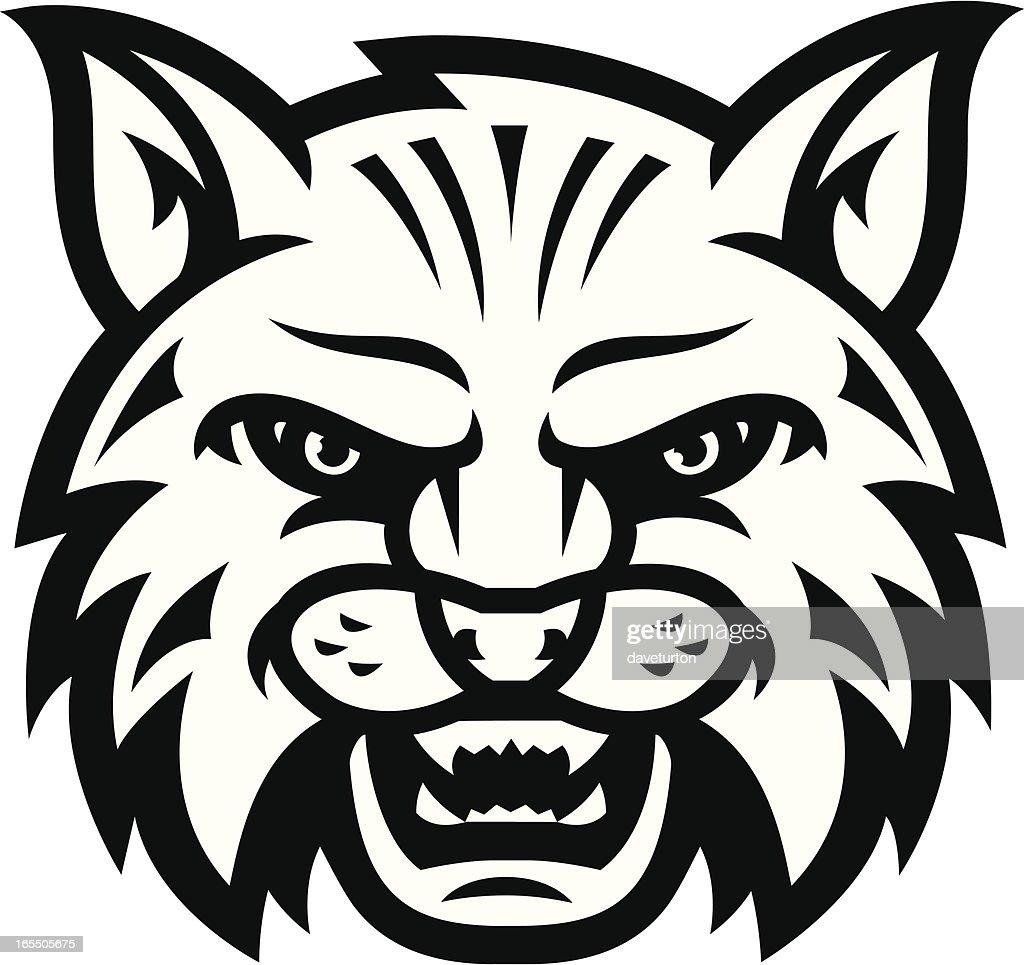 Wildcat Scream B&W