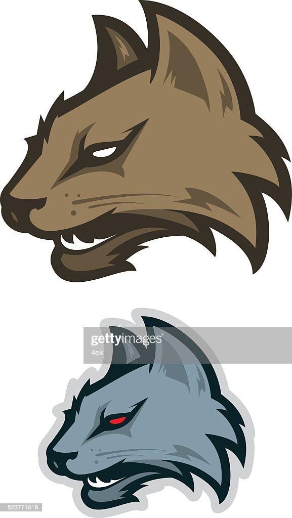 Wildcat sport logotype