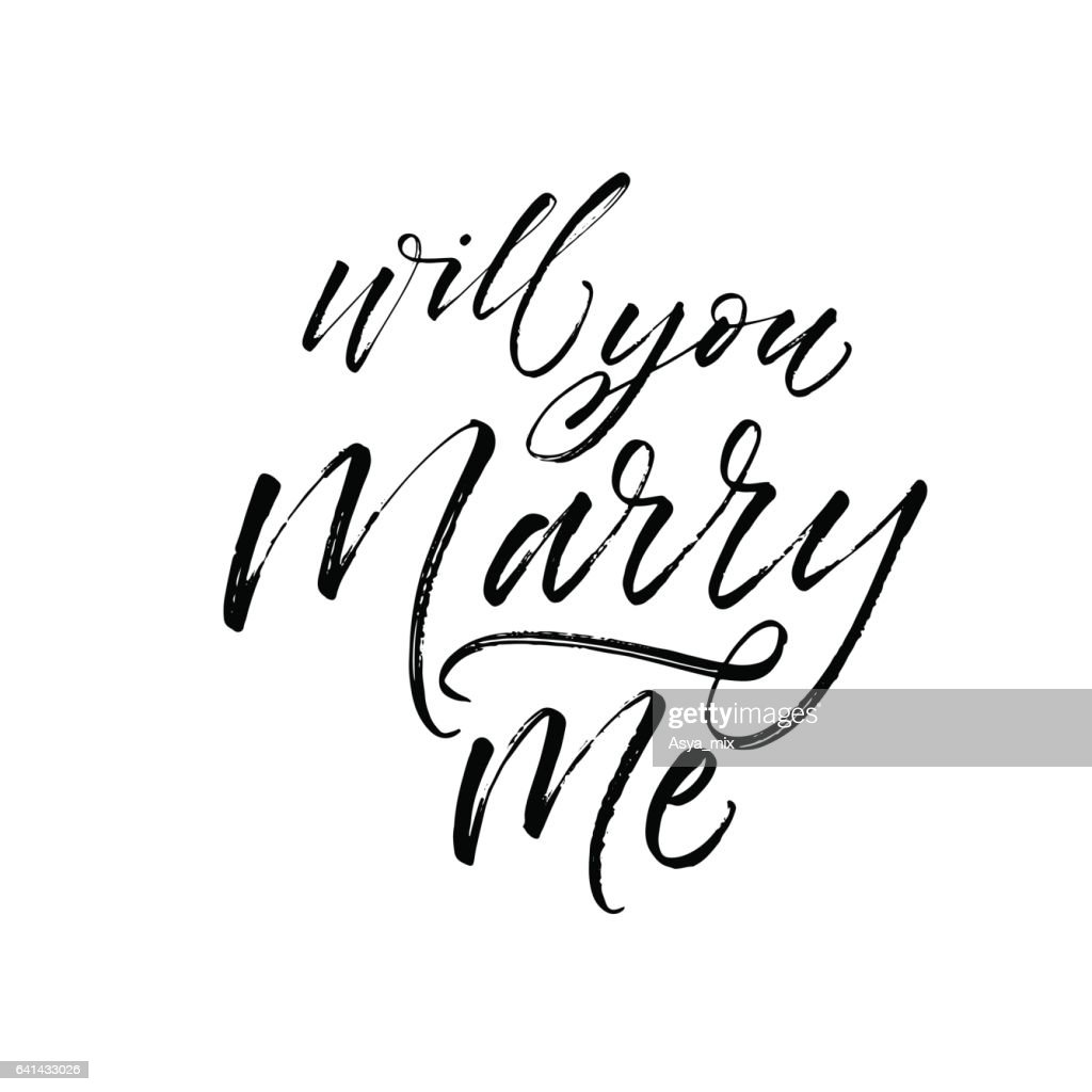Will you marry me card.