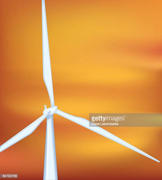 風力タービン - clip art点のイラスト素材/クリップアート素材/マンガ素材/アイコン素材
