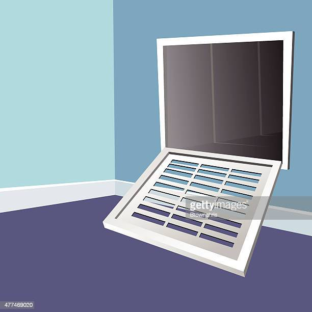 vent - air duct stock illustrations