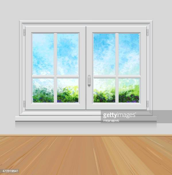 Kitchen Window Clip Art: 60 Top Window Sill Stock Illustrations, Clip Art, Cartoons