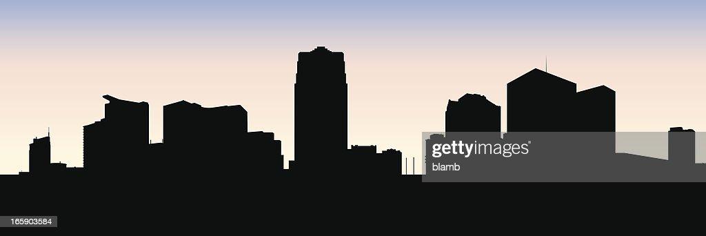 Windsor Skyline Silhouette