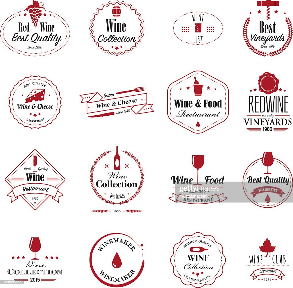 Wine badges