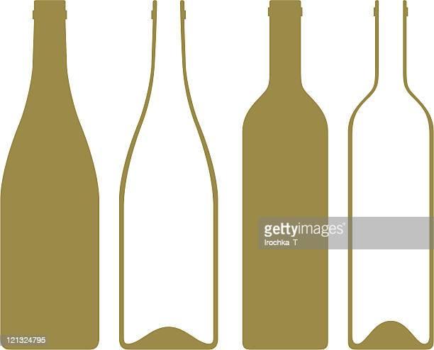 Ilustraciones De Stock Y Dibujos De Botella De Vino