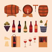 Wine design elements