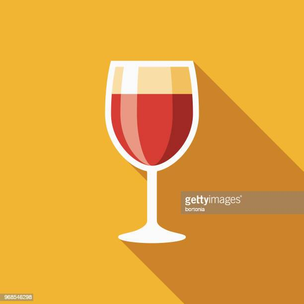 Wine Flat Design Hanukkah Icon