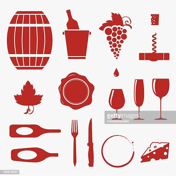 Iconos de vinos
