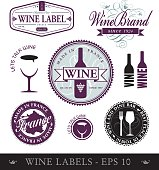 Wine labels and logo's