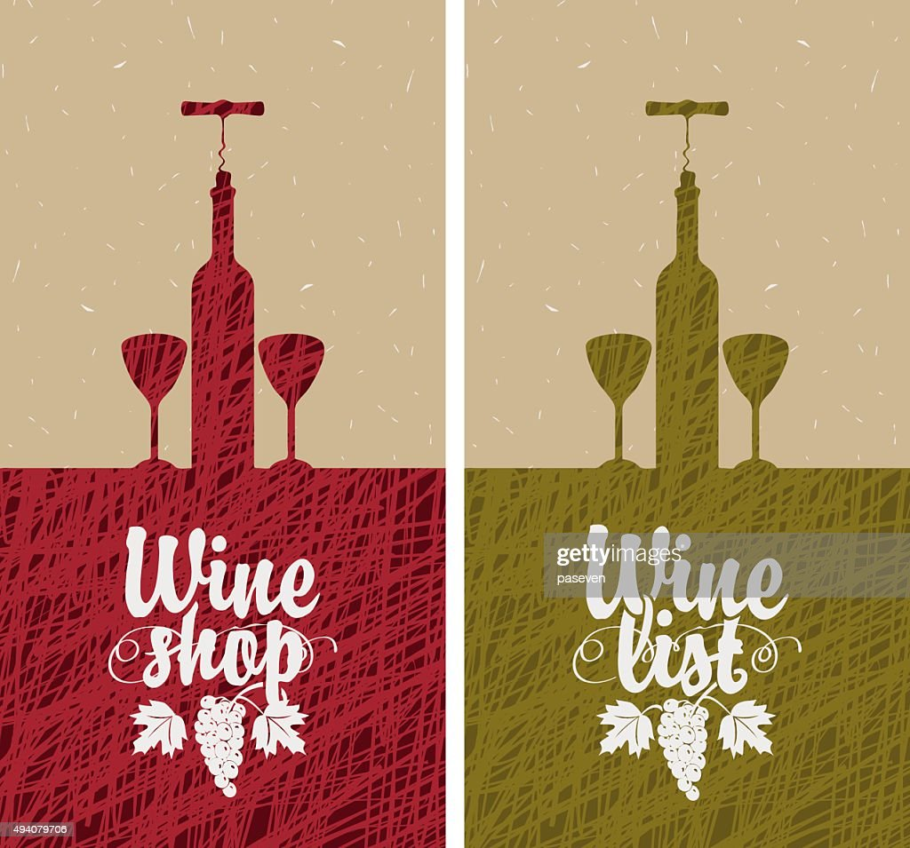 wine list and shop