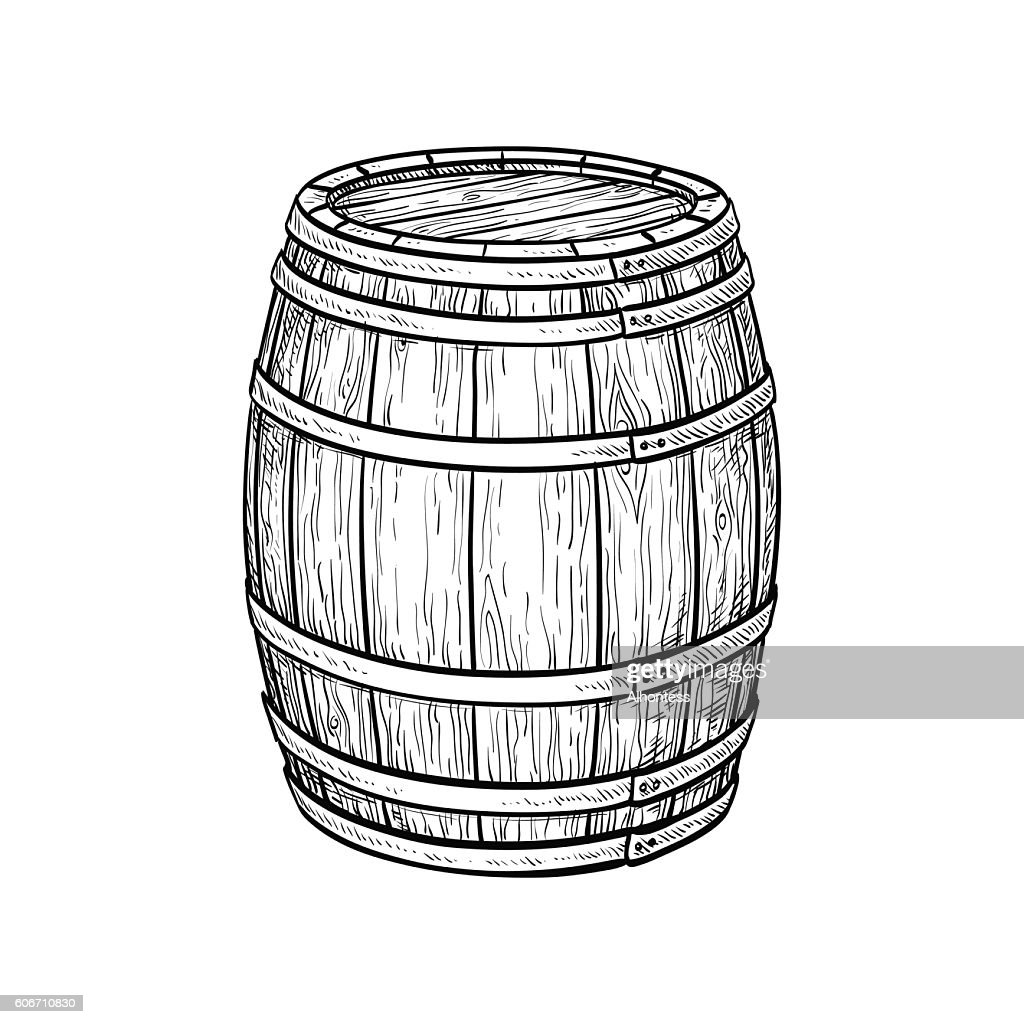 Wine or beer barrel