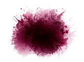 Wine stained background. Reddish color spots.