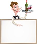 Wine Waiter Sign