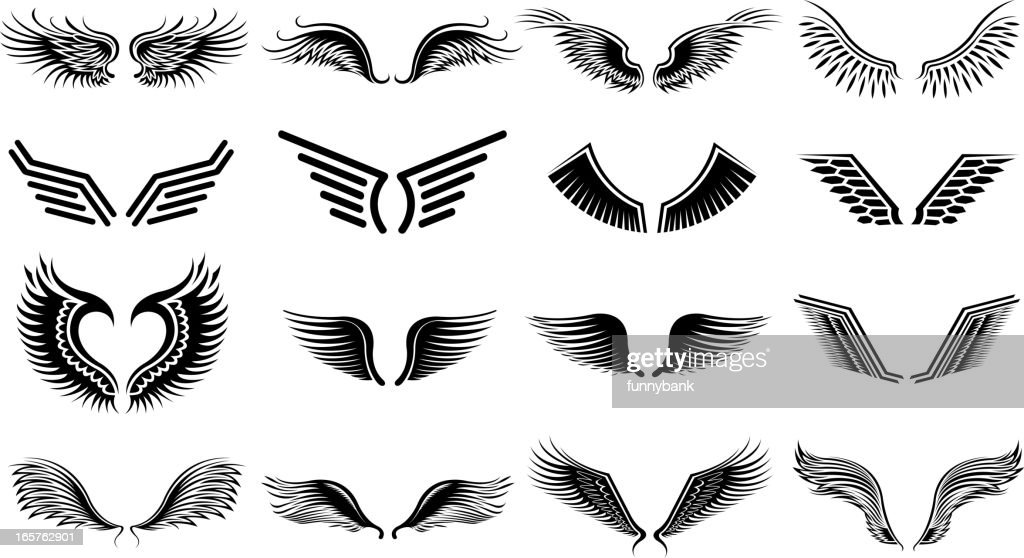 wing symbols