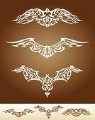 Wing Tattoo Set