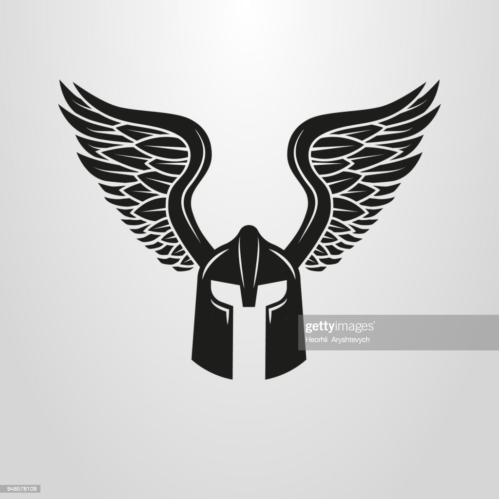 winged helmet icon