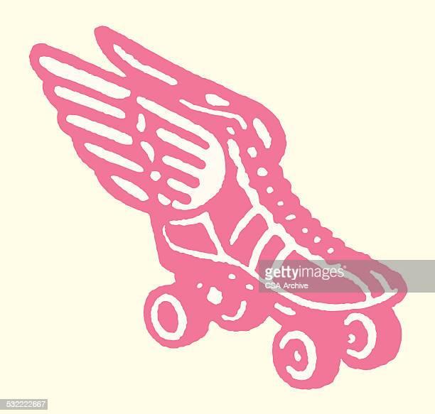 Winged Rollerskate