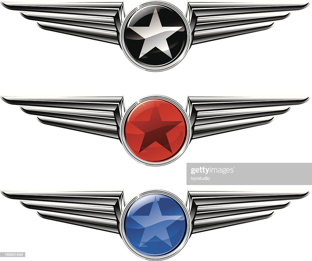 Winged Star Emblems