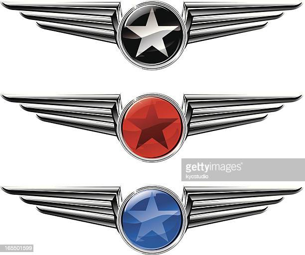 Winged Star Emblems