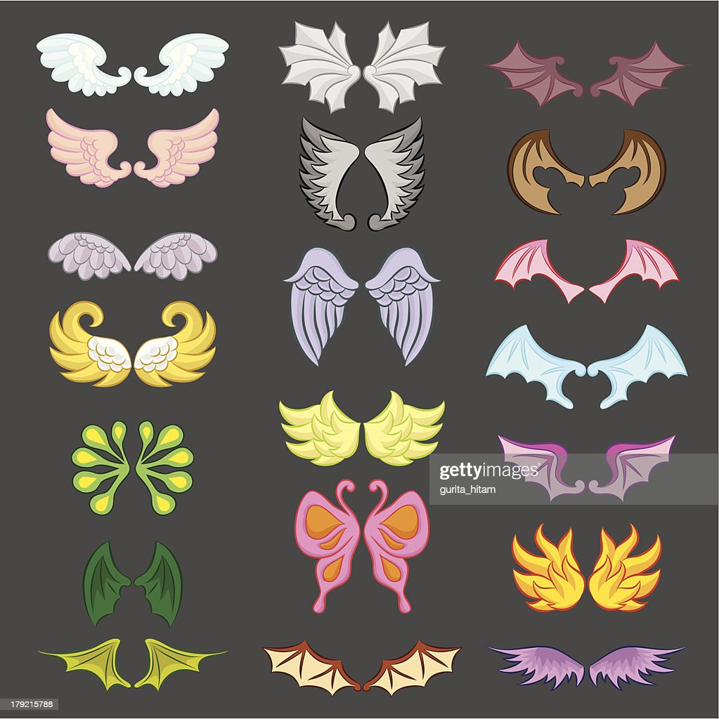 Wings Cute Collection Part III