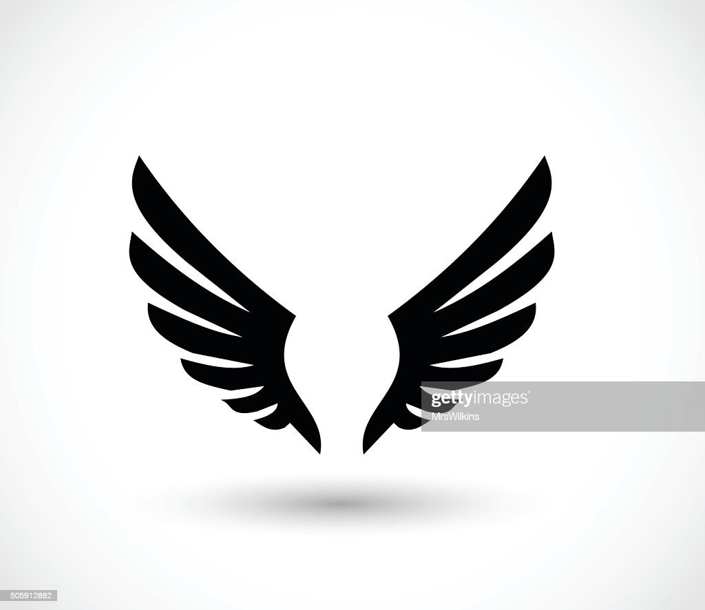 Wings icon vector illustration