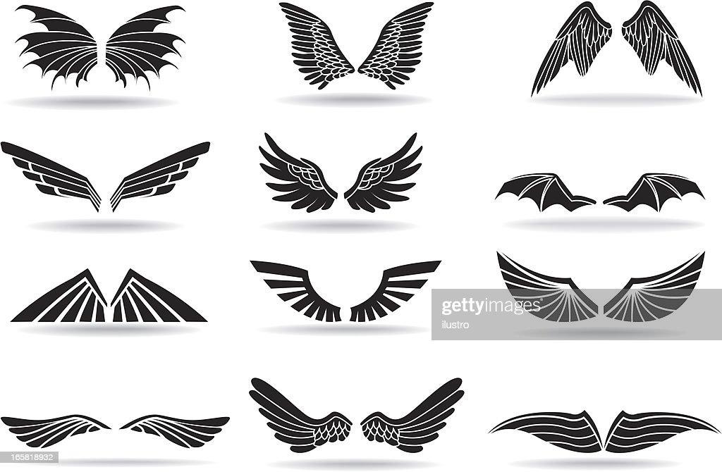 Wings : Ilustración de stock
