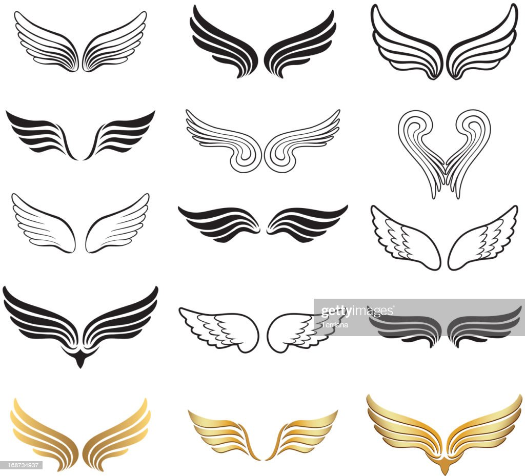Wings Vector Set.