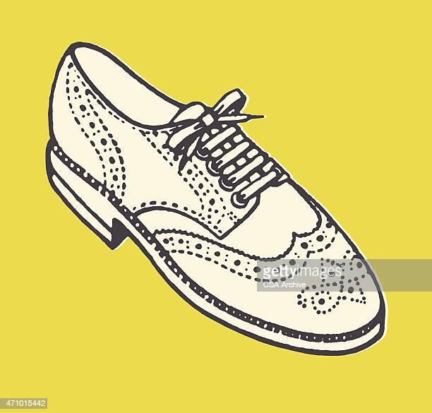 Wing-tip Shoe