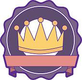 winner crown emblem icon