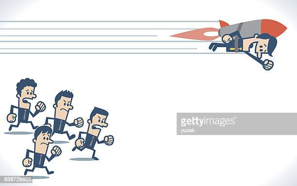 winner - competitive sport stock illustrations, clip art, cartoons, & icons