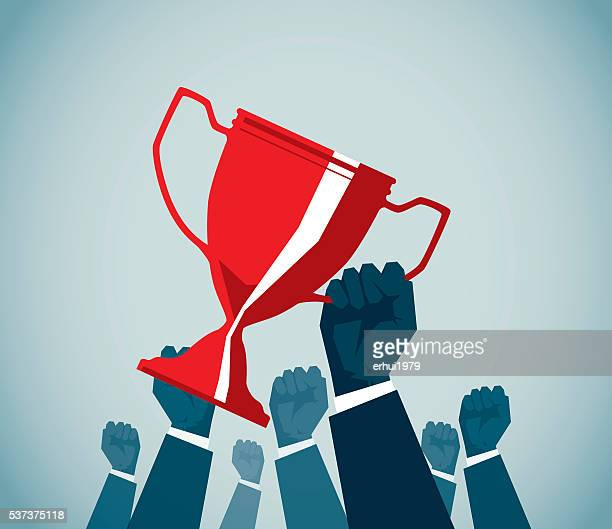 winners - achievement stock illustrations, clip art, cartoons, & icons