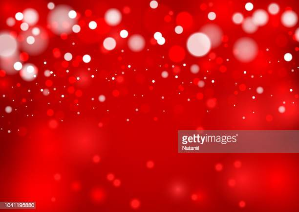 winter background - red background stock illustrations