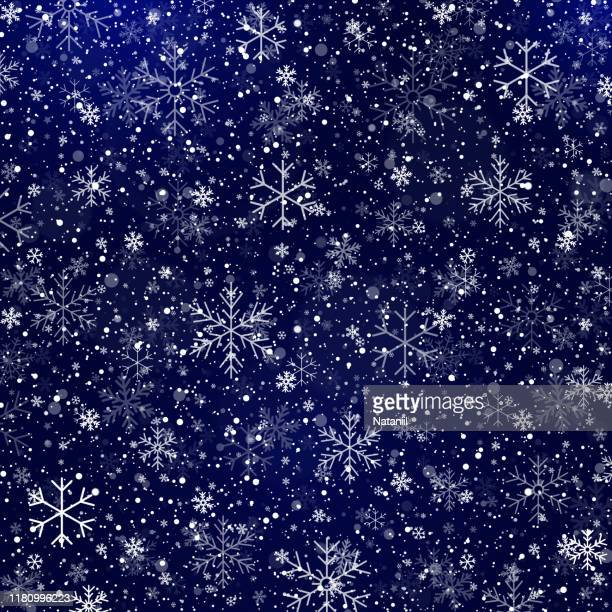 winter background - snowing stock illustrations