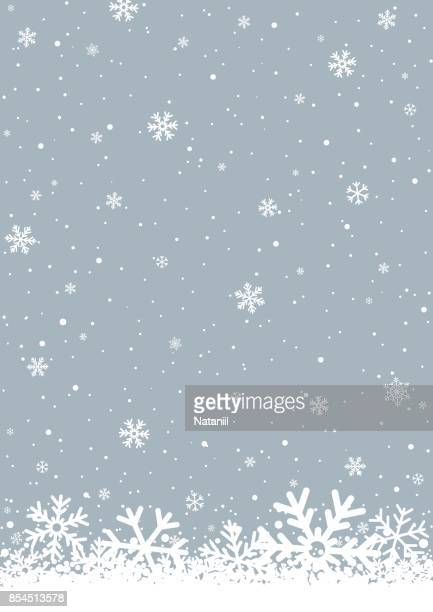 winter background - snow stock illustrations