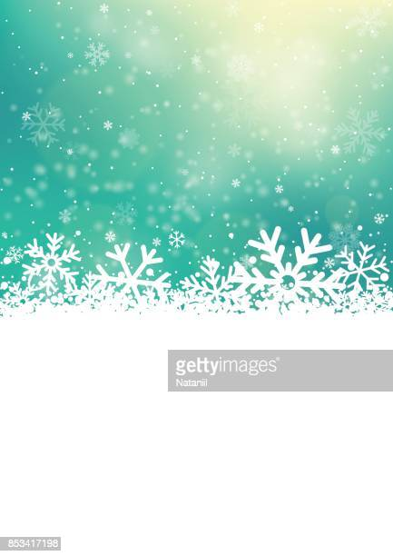 Winter background with a copy space