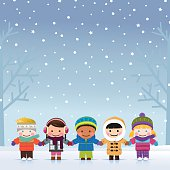 Winter Boys and Girls