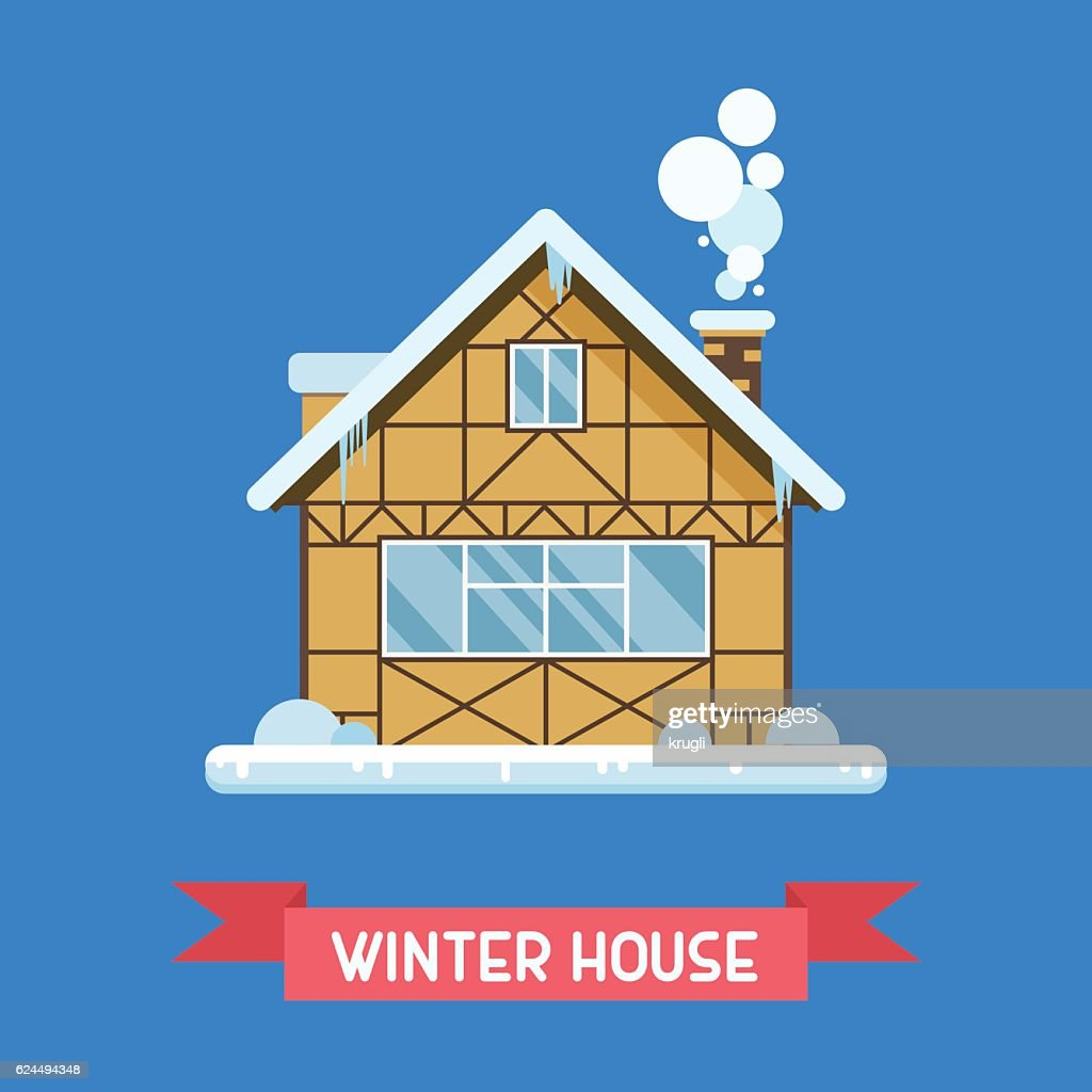 Winter Chalet House