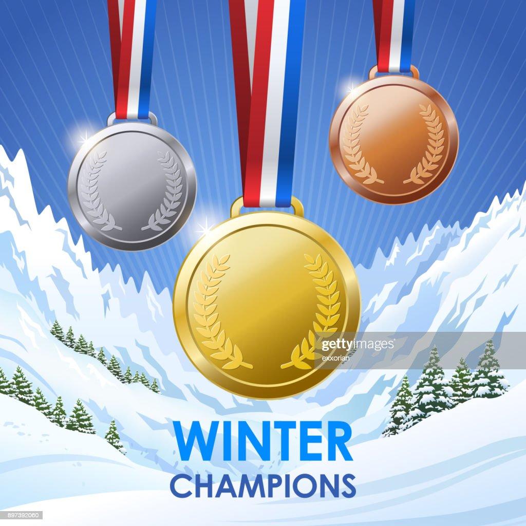 Winter Champion Medals