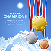 Winter Champion Medals