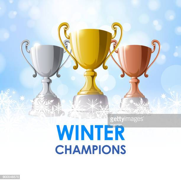 Winter-Champion Trophäen