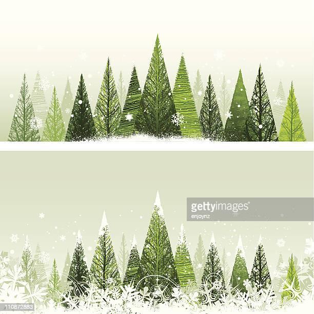 冬クリスマスツリー