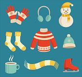 Winter essentials set