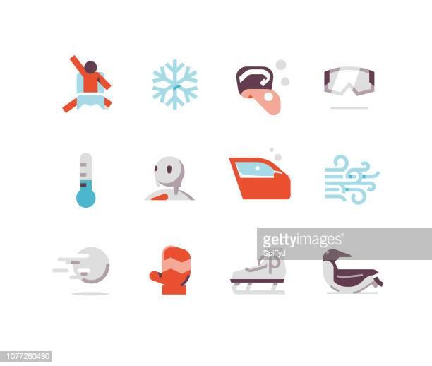 Winter Flat Icons