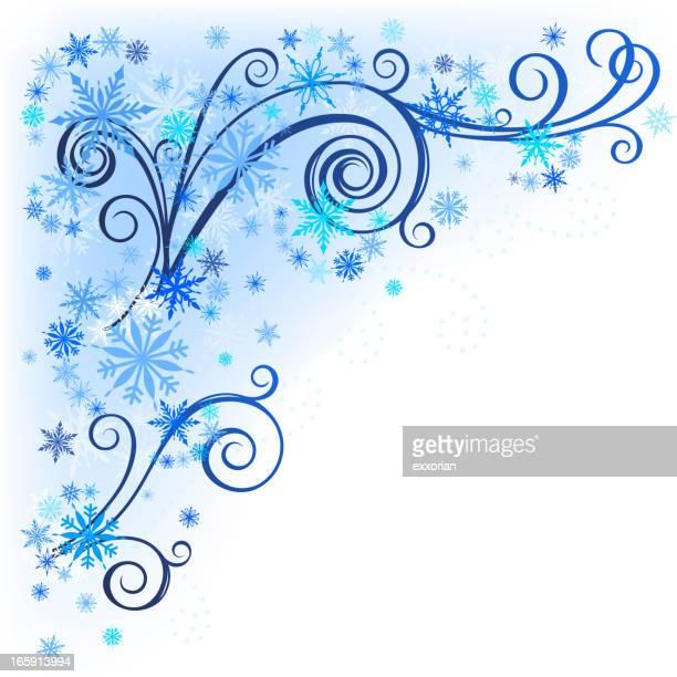 Winter Floral Corner