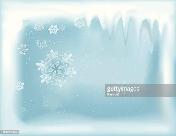 冬のフレーム