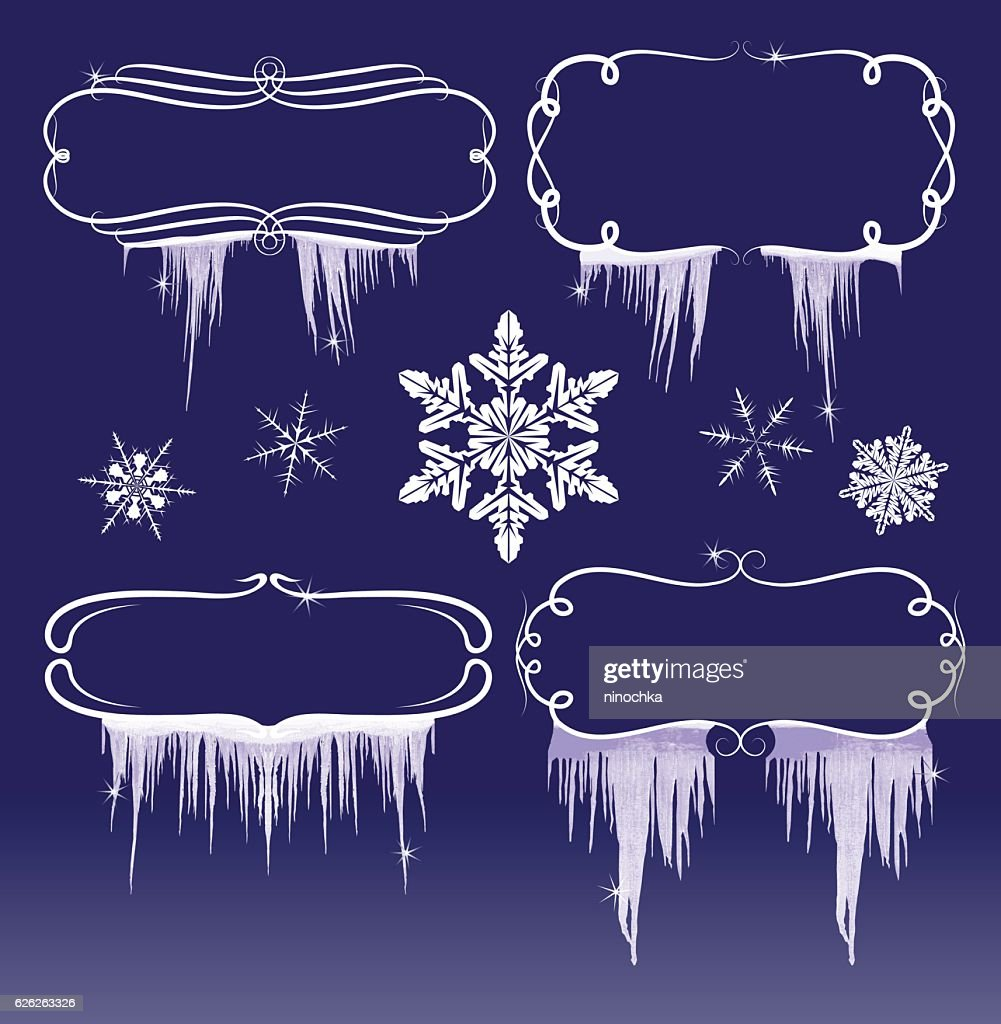 Winter Frames Vector Art | Getty Images