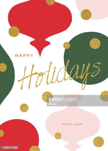 冬のグリーティングカード。 - 年賀状点のイラスト素材/クリップアート素材/マンガ素材/アイコン素材