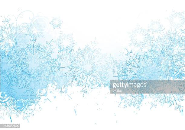 winter grunge background - frost stock illustrations, clip art, cartoons, & icons